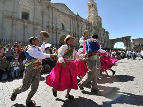 Aniversario de La Fundación Española de La Ciudad de Arequipa
