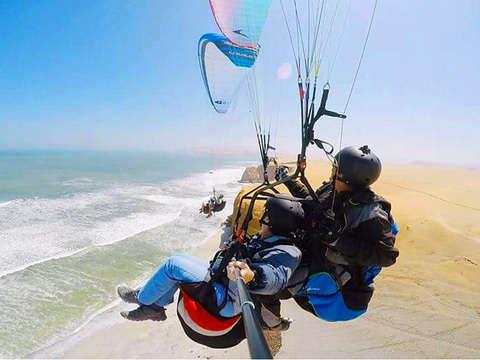 Parapente en Paracas: Conquista los Cielos de la Bahía