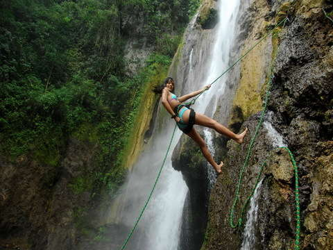 Adrenalina en Tingo María Aventurero