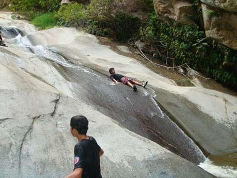 Full Day Resbaladeras Naturales de Songos + Canyoning