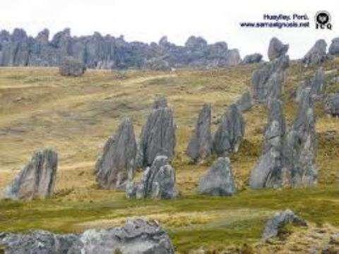 Huayllay - Bosque de Piedras